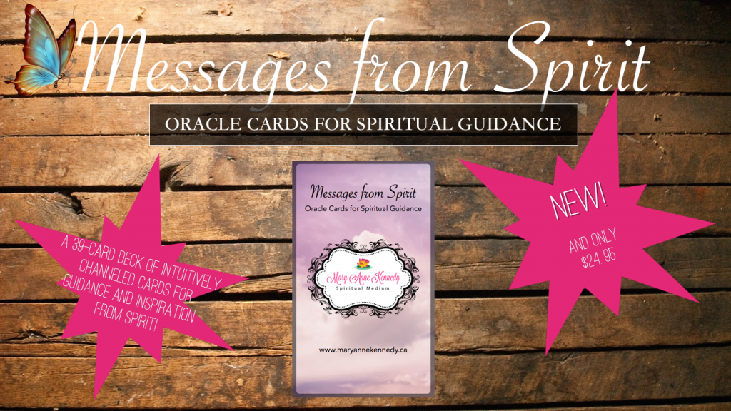Messages from Spirit Cards