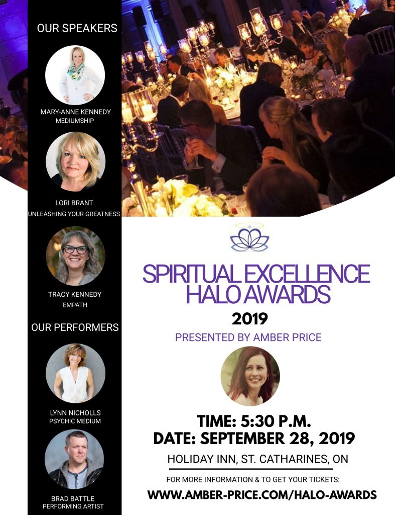 SPIRITUAL EXCELLENCE HALO AWARDS